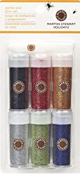 Martha Stewart Crafts Glitter, Classic Halloween, 6-Pack