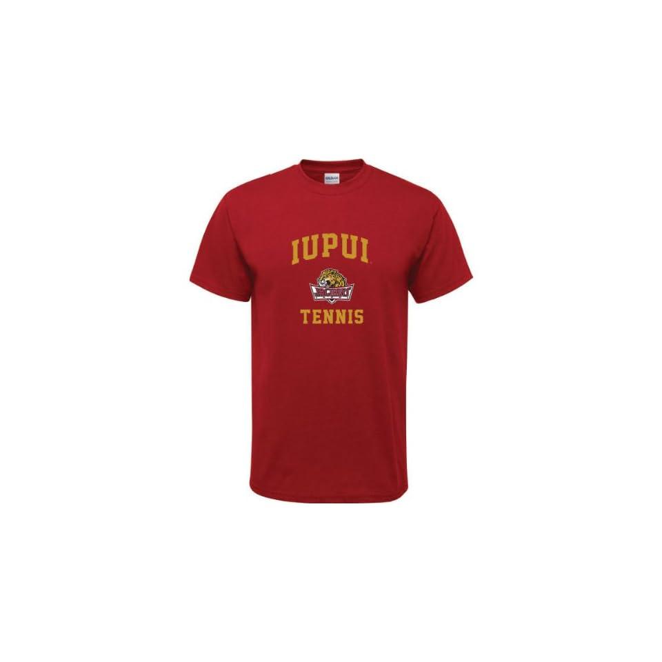 Jaguars Cardinal Red Youth Tennis Arch T Shirt