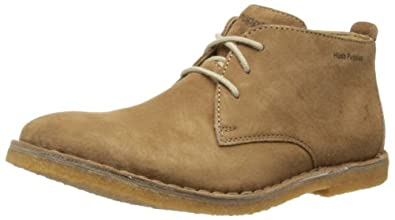 Hush Puppies Desert II, Men's Desert Boots, Taupe Suede, 6 UK