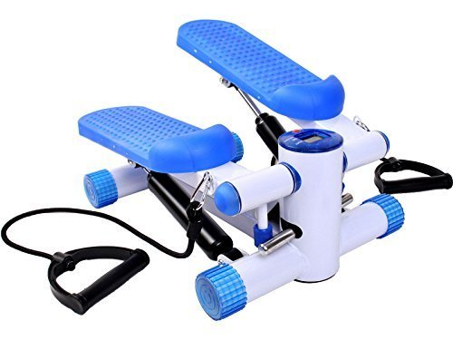 Air Stair Climber Stepper Exercise Machine Aerobic Fitness Step Equipment Bands by United States