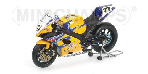 SUZUKI GSX-R1000 Y.KAGAYAMA TEAM ALSTARE SUZUKI CORONA EXTRA Diecast Model Motorcycle in 1:12 Scale by Minichamps