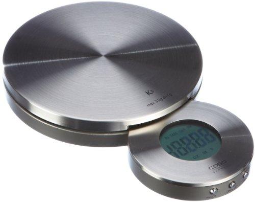 CASO Küchenwaage acier affiné 1 x 3 V 3200