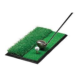 Golfoy Dual Surface Golf Practice / Hitting Mat