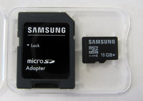 41Mq o7M1dL Samsung Microsd 16gb with Sd Adapter