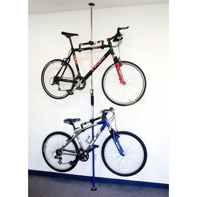 SpareHand Q-Rak Dual Bike Rack - Floor To Ceiling Storage Rack
