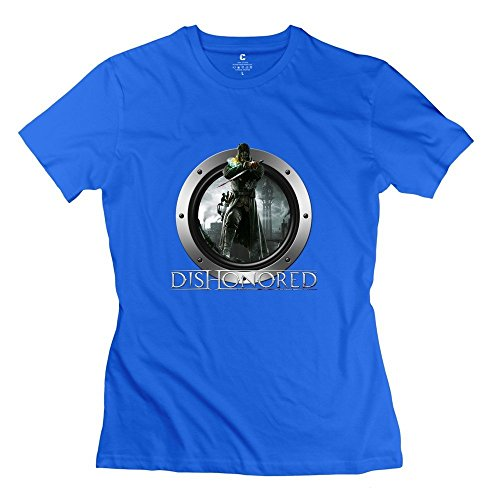 AMtted Dishonored Awesome Casual Tshirts For Women