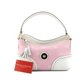 DOONEY & BOURKE Small Signature Pink Slouch Handbag Purse Shoulder Bag