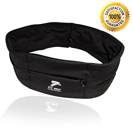 Running fuel Belt - Travel Money fuel belt - best quality like adidas hummel and nike - FIT BELT - for Hiking - workout - Jogging - Bring Your Keys