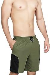 Clifton Men's Shorts - Olive Green