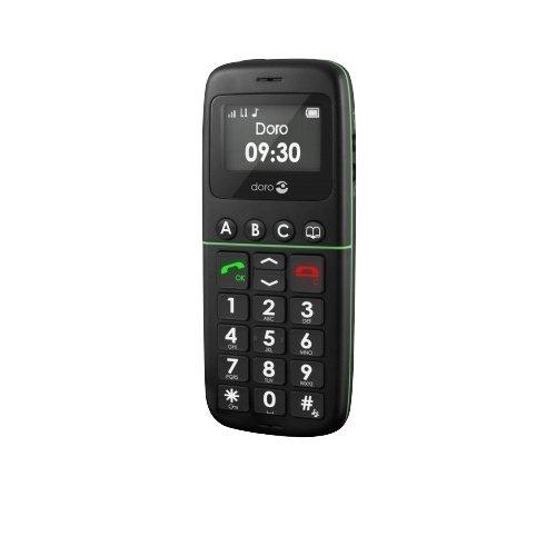Doro PhoneEasy 338gsm (schwarz) Handy, große Tasten