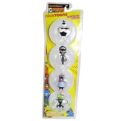 Nicktoons T.U.F.F. Puppy 2-Inch Mini-Figure 4-Pack