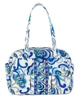 Vera Bradley Baby Bag in Mediterranean White