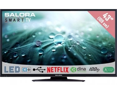 "Salora Salora 43LED9102CS 43"" Full HD Smart TV Noir écran LED"