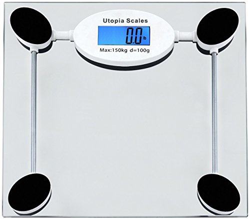Digital Glass Bathroom Scale – By Utopia Scales