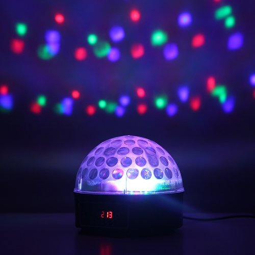 Disco Dj Stage Lighting Led Rgb Crystal Magic Ball Dmx Light Ktv Party