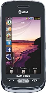 Samsung Solstice a887 Phone, Purple (AT&T)