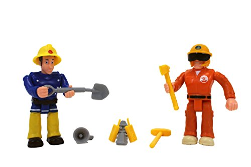 Fireman Sam - Figurines Double Pack (Elvis & Tom) [Amazon Exclusive] - 1