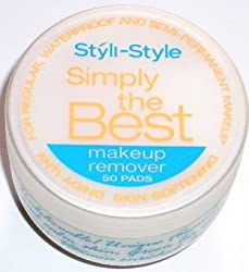 Styli-Style Simply the Best Make Up Remover 50 Pads