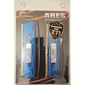 G.SKILL Ares Series 8GB 2 X 4GB 240-Pin SDRAM DDR3 1600 PC3 12800 Desktop Memory F3-1600C9D-8GAB