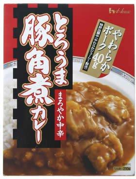ハウス とろうま豚角煮カレー 210g (4入り)