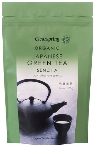 Clearspring Organic Japanese Green Tea Sencha Loose 125 g