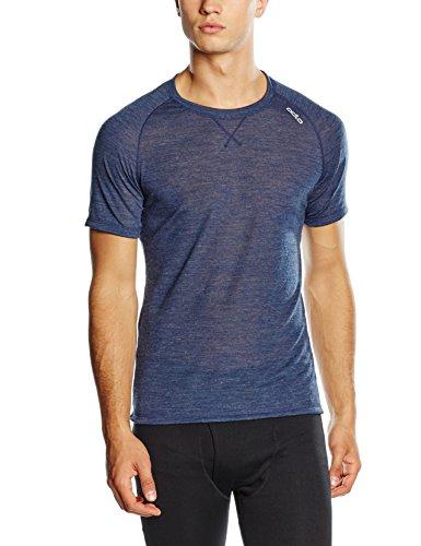 Odlo Revolution TW Light Shirt Kurzärmelig XL Blau - Navy New Melange