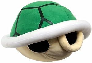 Amazon.com: New Super Mario Bros. Wii Sound Plush Green Koopa Shell