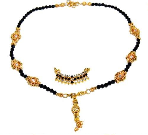 Madhumati Imitation Mangalsutra - Interchangeable Pendant
