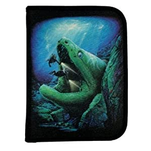 Buy New Scuba Diving 3 Ring Zippered Log Book Binder with FREE Generic Log Insert ($12.95 Value) - Eel... by Amphibious Outfitters