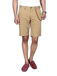 Hammock Men's Solid Chino Shorts - Khaki (32), H21A05J50132