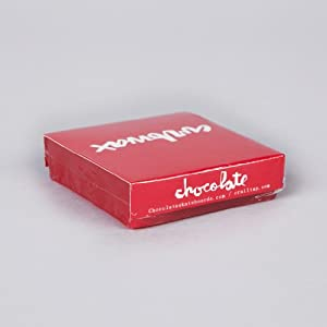 Chocolate Skateboard Curb Wax Red Square by Chocolate