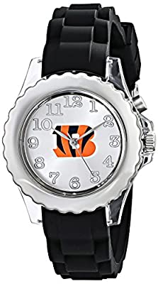 "Game Time Youth NFL-FLB-CIN ""Flash Black"" Watch - Cincinnati Bengals"