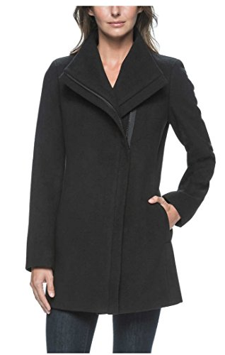 andrew-marc-ladies-black-jacket-with-zippered-front-and-lining-x-large