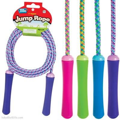 Toysmith TSM9413 Jump Rope, 7-Feet (Kids Jump Ropes compare prices)