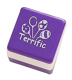 Set Of 4 Cartoon Stamp Funny Sears Purple Beautiful Seal