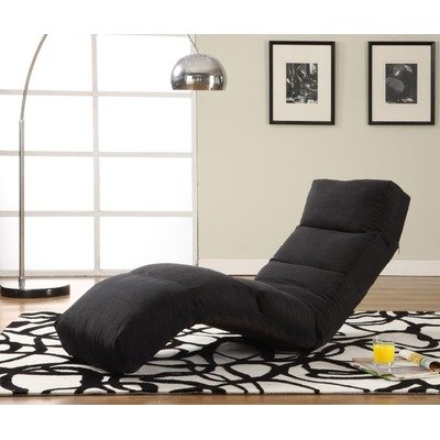 Cyber monday lifestyle solutions jet curved chair chaise for Chaise lounge black friday sale