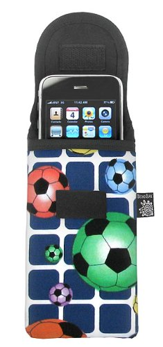 Broad Bay Soccer Phone Case Glasses Holder Soccer Player Fits Apple Iphone Touch Samsung Lg Nokia And More