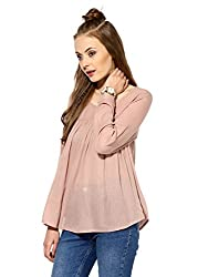 Raindrops Women's Top(1146D003B-Beige-S)