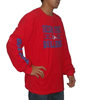 NCAA Fresno State Bulldogs Mens Athletic Long Sleeve Pullover Sweatshirt by NCAA