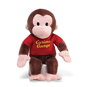 "Gund Curious George Red Shirt 12"" Plush from Gund"