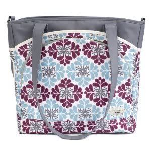 Laminated canvas 100% polyfill JJ Cole Mode Diaper Tote Bag changing pad included - Mulberry Patch Nourrisson, Bébé, Enfant, Petit, Tout-Petits