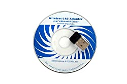 StarTek 150Mbps 802.11 Mini Wirless USB Adaper RT5370 Chip and Driver CD