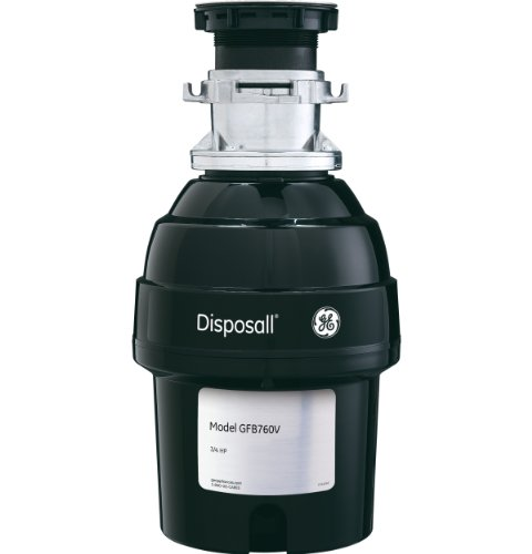 GE GFB760V .75 Horsepower Deluxe Batch Feed Disposal Food Waste Disposer
