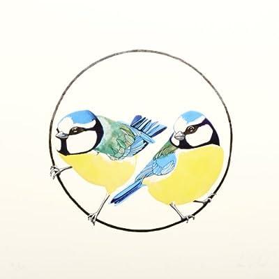 Bluetits by Fran Giffard (Limited Edition Print)||EVAEX