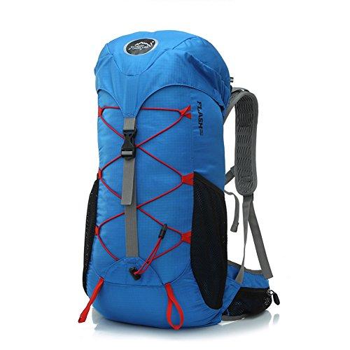 Diamond Candy Zaino da Trekking Outdoor Donna e Uomo con Protezione Impermeabile per alpinismo arrampicata equitazione ad Alta Capacitš€ borsa da viaggio,Multifunzione, 35 litri Blu reale
