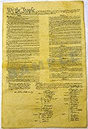 Four Page Constitution Set 1787