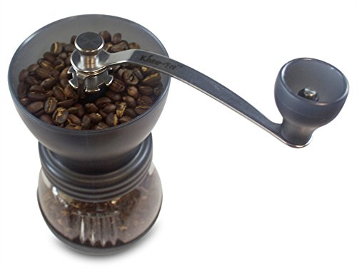 Quietest Coffee Maker With Grinder : Khaw-Fee HG1B Manual Coffee Grinder with Conical Ceramic Burr - Because Hand Ground Coffee Beans ...