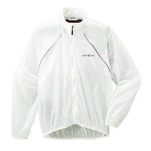 (モンベル)mont-bell U.L.サイクルウインドジャケット男性用 ホワイト WT