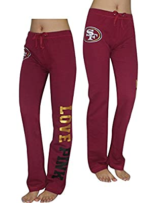 Womens NFL San Francisco 49ers Pajama Pants by Pink Victoria's Secret