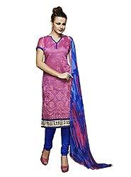 Parinaaz Fashion Top- Chanderi Bottom - Indo Cotton Dupatta - Chiffon Mill Print